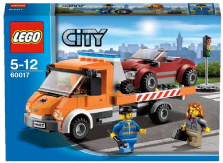 Lego City: 60017 Flatbed Truck